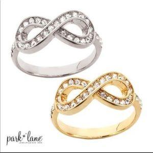 Park Lane 'Infinity' Ring SILVER